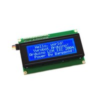 arduino lcd project - Electronic Part V IIC I2C x Character LCD Display Module Blue Screen For Arduino Project Interface I2C