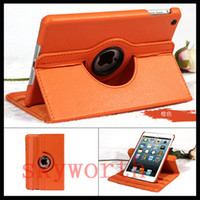 best ipad screen covers - Best Quality Rotary PU Leather Case Cover For iPad mini4 mini retina Magnetic Case Stand