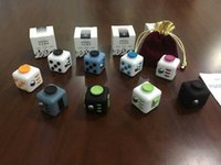 big cube - 11 color New Fidget cube the world s first American decompression anxiety Toys E1674