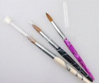 acrylic nail art pictures - Hot Sale Factory Direct Big SIZE Nail Art Brush Kolinsky Acrylic Nail Brush brush picture