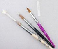 acrylic nail pictures - Hot Sale Factory Direct Big SIZE Nail Art Brush Kolinsky Acrylic Nail Brush brush picture