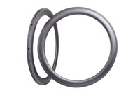 Wholesale oray fiber C carbon bike rims mm tubular front and rear aero spokes h h carbon mm rims