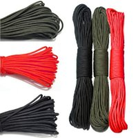 Wholesale 1Pc m Outdoor Camping Parachute Rope Survival Single Core Strand Rope F00026 SMA