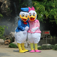 Wholesale Best Quality Donald Duck Daisy Duck Cartoon Mascot Costume with lower price for party