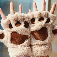 Wholesale new arrival pair new women lady girl winter lovely and warm fingerless gloves