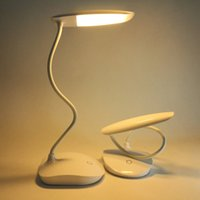 Wholesale student lamb watts milliampere lithium battery children warm yellow light the special charging desk lamp that shield an eye