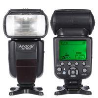 ad master - Andoer AD II E TTL HSS s Master Slave GN58 On Camera Flash Speedlite for Canon D Mark III D Mark II DSLR Camera D1617