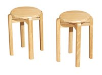 Wholesale Wooden leisure comfortable home restaurant wooden chair surface is smooth