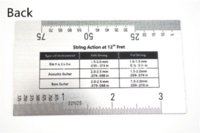 bass strings guide - Acoustic Guitar Electric Guitar Bass String Action Ruler Gauge Guide Measuring Guitar Luthier Tool