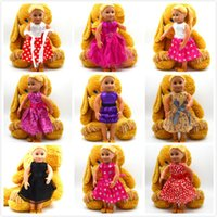 Wholesale Christmas Gifts For Children Girls Doll Accessories Handmade Princess Dress For American Girl Dolls Clothes variety of option