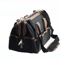 Wholesale 2016 Hot quot x17x26cm Multifunctional Electrical Bag Tools Case Oxford Bag Electrician Canvas Tool Bag Toolkit