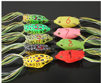 bass fishing frog - Lures frog floating frog Lei Qiang bait Hard Bait Fresh Water Shallow Water Bass Fishing Tackle g g g g