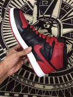 best jordans shoes - 2016 best the best Air Jordan Retro High OG Bred Black Red Banned Youth air jordans pinnacle basketball shoes with box size