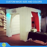 Wholesale Portable photo booth enclosure inflatable photo booth props
