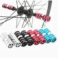 Wholesale Mountain Bikes The Hollow Foot Column Foot Bumper Bazookas Bicycle Cycling Bring People Balancing Pole Cycling Bazookas