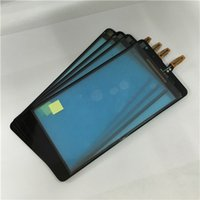 Wholesale 100 Woking And Supply High Quality For Nokia Lumia Touch Srceen Digitizer Black For DHL