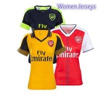 arsenal women - New women jerseys Arsenal home away third soccer jerseys Top Thai Quality football shirts ALEXIS OZIL ET