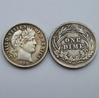 Wholesale 1896 o Date Barber One Dime Coin Copy High Quality Promotion Cheap Factory Price nice home Accessories Silver Coins
