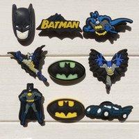 best neutral shoes - High Quality best Bat Man PVC shoe charms shoe decoration shoe bucklt shoe accessories Kids gift Party favor fit bracelets shoes