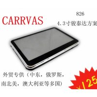 Wholesale Car Navigation Touch Screen Sale - 2015 New Sale A Variety of Models 826 2016 5 Exports 4.3 Inch Gps Navigator Car Navigation Germany France United Kingdom Shenzhen Factory