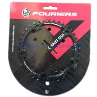 Wholesale pc Fouriers Road Bike CNC Single Chain Ring Narrow wide Teeth T T T mm P C D mm Compatible for S H I M A N O