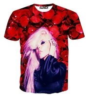 beautiful flower graphics - New fashion beautiful rose flowers bubble goth queen Kerli d t shirt character graphic t shirt tee women summer tops camisetas