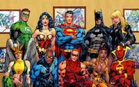 art styles lanterns - quot X35 quot inch Hot Sale batman superman green lantern Movie The human body art Poster Custom ART PRINT
