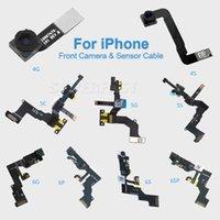 Wholesale For iPhone S C S Plus S S Plus Light Proximity Sensor Flex Cable Front Facing Camera Len Microphone Assembly