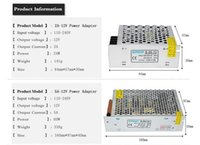 Wholesale LED Power Supply A A A A A A A A LED Driver Power Adapter Switch Transformers AC V V
