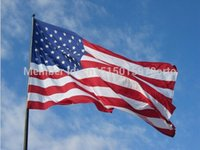 banner office - New fashion cm quot United State American USA quot National Flag Banner Office Activity p polyester banner custom flag _32609752