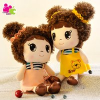 Wholesale 30cm Student cute girl doll plush toy candy Wedding Dolls kindergarten small gifts