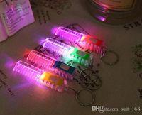 ametrine pendant - 2016 new fashion keychain toy luminous flash night market stall Yiwu Small Commodity pendant light emitting sources