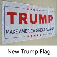 Wholesale New Fashion During the presidential campaign cm flag American flag TRUMP FLAG B0593