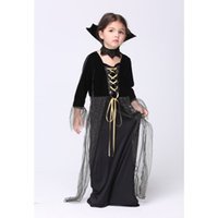 2016 Mignon Bébés filles Robe Halloween Cosplay Costume enfants Robes Cosplay Vêtements Costumes pour les enfants menina vestidos