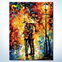 Wholesale Sweet Hug Wall Art DIY Painting Baby Toys x40cm Infant Canvas Oil Painting Drawing Wall Art for Home Decoration with Green Acrylic