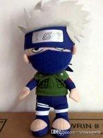 Wholesale Naruto Uzumaki Kakashi uchiha madara Plush Doll Animation stuff doll for children gift NAPL7848