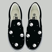 animal pedals - Big white shoes white casual shoes pedal graffiti shoes low shoes lazy