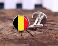 belgium national flag - Flag of Belgium Cufflinks Custom National Flag Cuff Links Belgium Flag Geekery Steampunk Cufflink Custom Wedding Cuff Links Groom Gifts