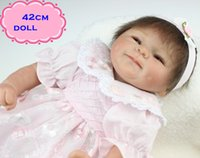 best looking models - 18inch Best Gift Brinquedos NPK Silicone Reborn Baby Dolls In Pink Skirt Like A Lovely Princess Real Looking Doll Reborn For Kid