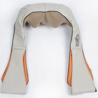 Wholesale U Shape Electrical Shiatsu Back Neck Shoulder Massager body infrared D kneading massager EU plug flat plug