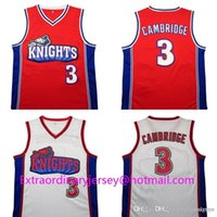Wholesale Like Mike Movie version Kevin jersey Kevin jersey Basketball Embroidery Logos Basketball Jersey