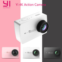 Wholesale Xiaomi YI K Action Camera Ambarella A9SE Xiaoyi Sports Camera II quot Degree MP CMOS EIS LDC