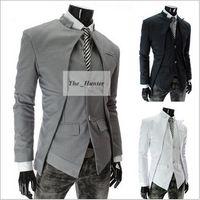 Wholesale Men Fashion Blazer Silm Brand British Style Suits Mens Stylish Design Blazers Business Suit Formal Coat Jacket Casual Business Jacket