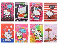 Wholesale Cute Kinds - Hello Kitty!Various Kinds Of Cute Cartoon Leather Cases Fold Flip Covers Universal For 7 10 inch Tablet