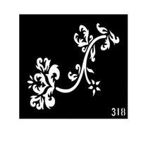 Wholesale New Style Neck Tattoos Designs Henna Tattoo Stencils Tatoo Template Plantillas Tatuajes EE T001