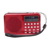 Wholesale Malloom Universal USB Stereo Speaker Portable Radio TF Card Speaker FM Radio MP3 Digital Speaker with LED Screen MA9