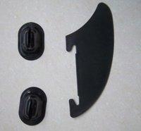 Wholesale ISUP Integral Fin Mounting Points Replacement Black Kayak Skeg Tracking Fin