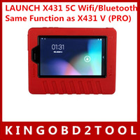 audi table - 2016 New Arrival original LAUNCH X431 C Wifi Bluetooth Table car Diagnostic Tool Same Function as X431 V PRO free dhl