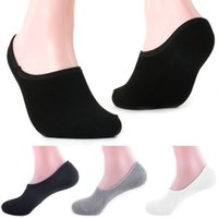 bamboo slippers - Hot sale New Men s Socks High Quality Cotton amp Bamboo Casual Socks For Men Invisible Mens Sock Slippers Shallow Mouth Sock