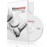 Wholesale Rhino Rhinoceros modeling tools for designers version English for win Color box package